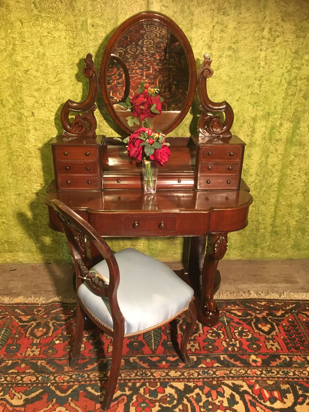 "Victorian ""Duchess"" Dressing Table €325"