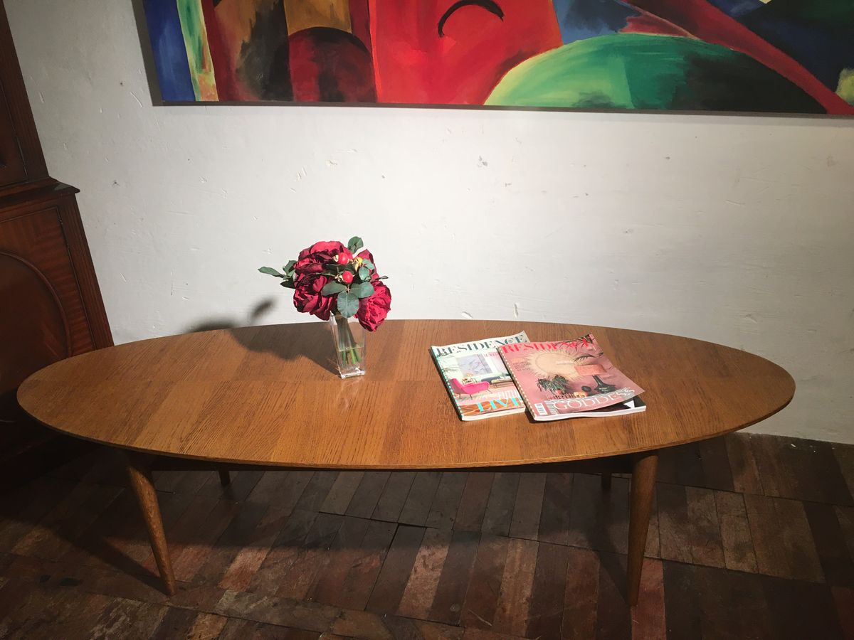 Mid Century sofa table €225