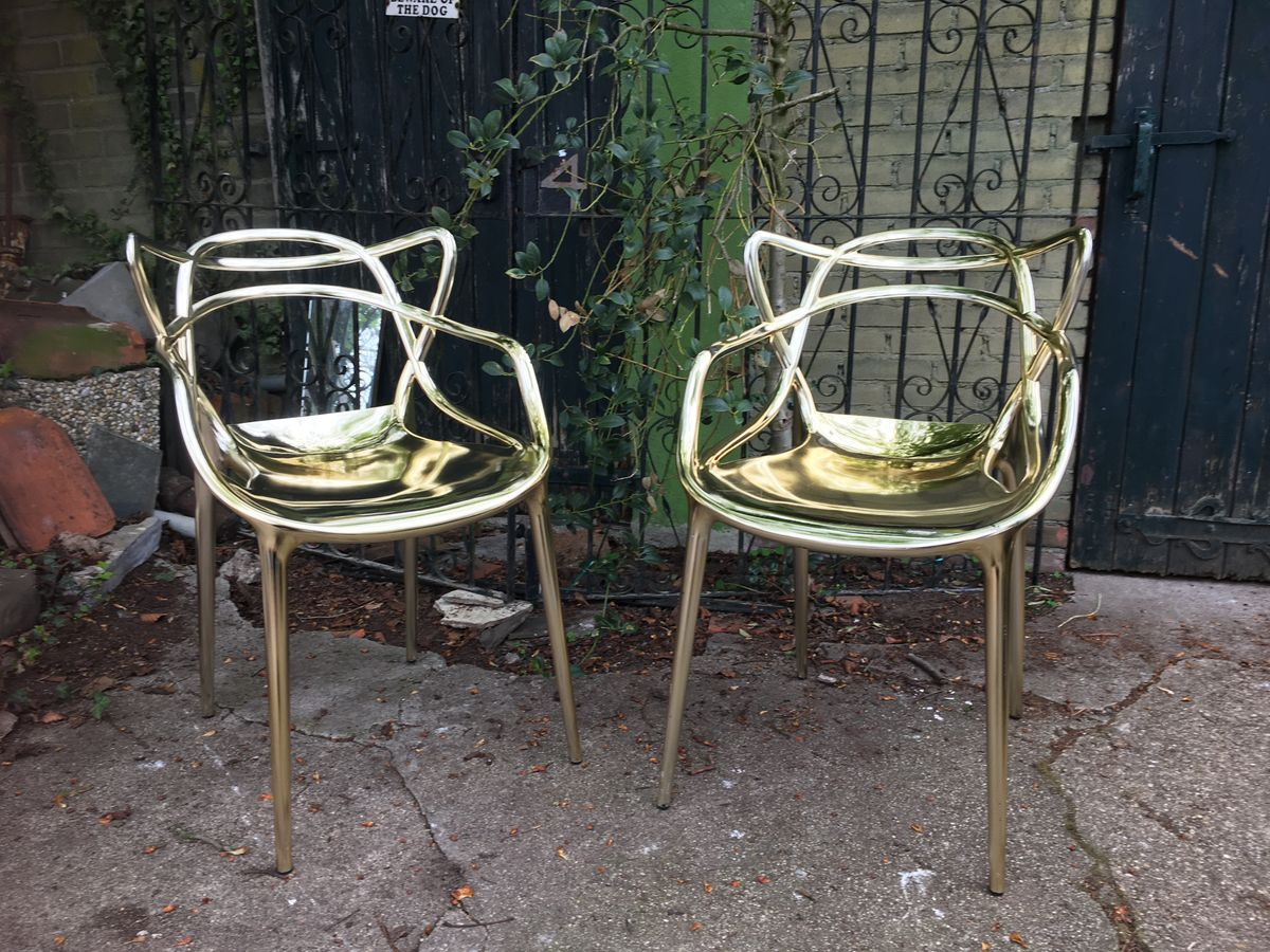 KARTELL MASTERS CHAIRS GOLD By Philippe Starck €295
